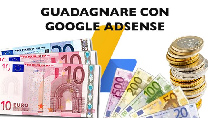 Google AdSense - guadagnare con il proprio sito web