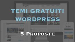 Migliori temi gratuiti per Wordpress